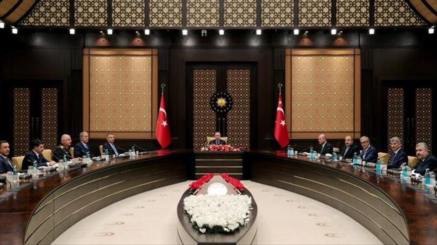 أردوغان يترأس اجتماعًا للجنة التنفيذية للصناعات الدفاعية