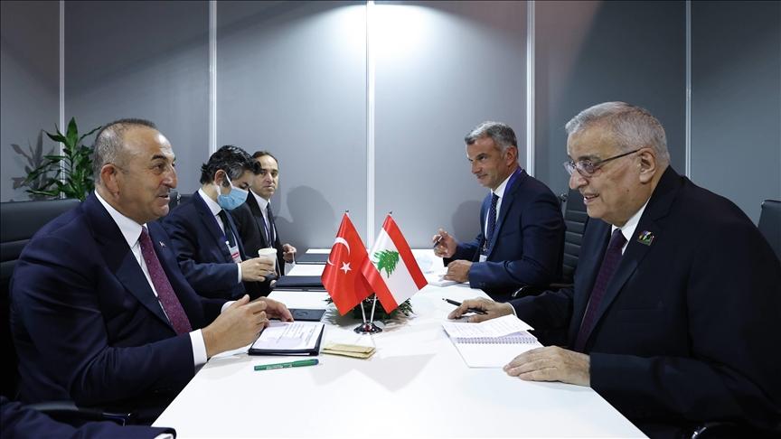 مباحثات تركية لبنانية حول سبل تطوير العلاقات الثنائية