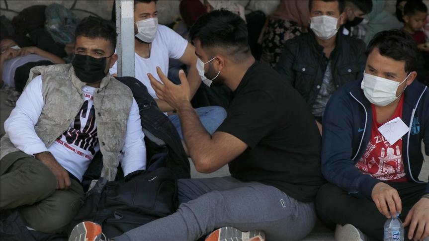 ضبط 58 مهاجرا غير نظامي في موغلا التركية